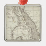 East Africa Map Christmas Ornaments