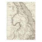 East Africa Map Postcard