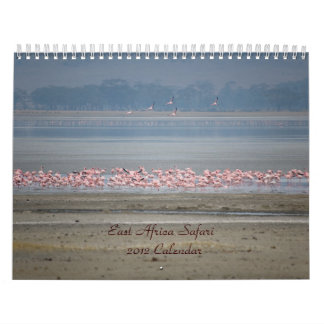 East Africa Safari Calendar