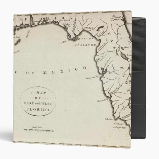 East and West Florida 3 Ring Binder