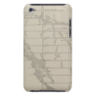 East and West Vertical Section, New Almaden Mine iPod Touch Cover