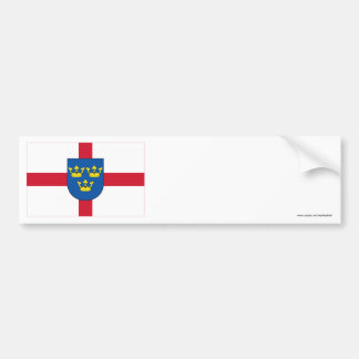 East Anglia Flag Bumper Sticker
