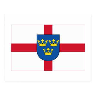 East Anglia Flag Postcard
