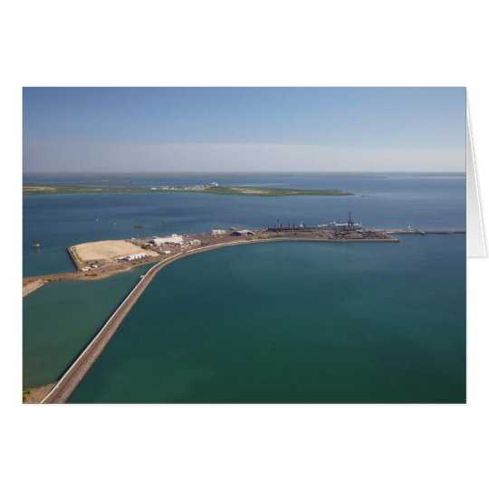 East Arm Port, Darwin Harbour Card