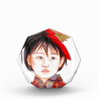 East Asian Child Acrylic Award