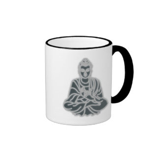 EAST ASIAN SITTING BUDDHA - PEACE MUG