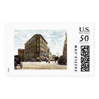 East Ave, Corner of Main, Rochester, New York Postage