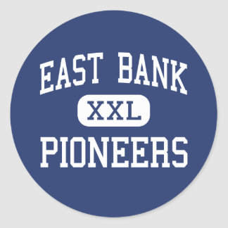 East Bank Pioneers Middle East Bank Classic Round Sticker