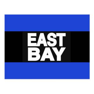 East Bay 2 Blue Postcard