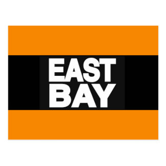East Bay 2 Orange Postcard
