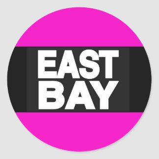 East Bay 2 Pink Classic Round Sticker