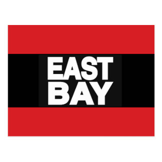 East Bay 2 Red Postcard