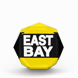 East Bay 2 Yellow Acrylic Award