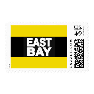 East Bay 2 Yellow Postage Stamps