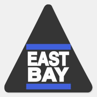 East Bay Blue Triangle Sticker