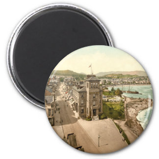 East Bay, Dunoon, Scotland 2 Inch Round Magnet
