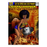 East Bay Express Blank Greeting Card