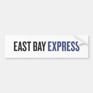East Bay Express color logo Car Bumper Sticker