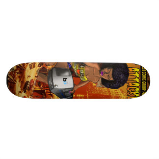 East Bay Express Comic Contest Skateboard