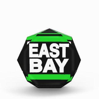 East Bay Green Acrylic Award