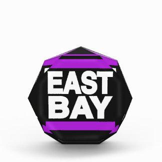 East Bay Purple Acrylic Award