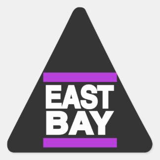 East Bay Purple Triangle Sticker