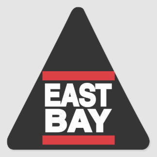 East Bay Red Triangle Sticker