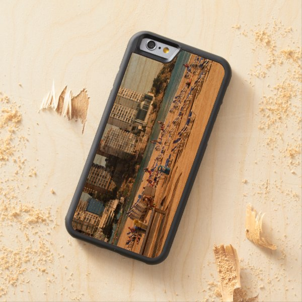 East beach of Benidorm Carved® Cherry iPhone 6 Bumper