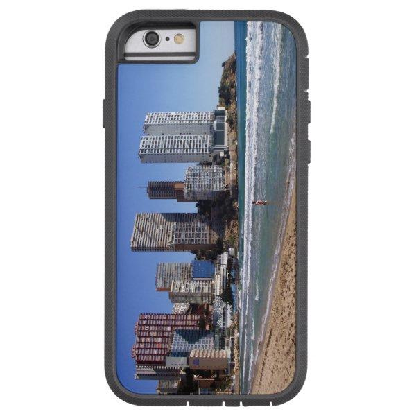 East beach of Benidorm, Spain Tough Xtreme iPhone 6 Case