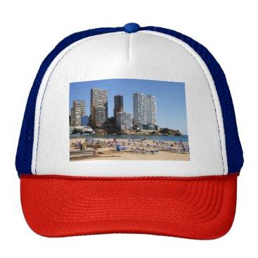 Beach Themed East beach of Benidorm Trucker Hat