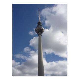 east berlin fernsehturm postcard