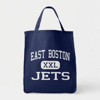 East Boston - Jets - High - East Boston Tote Bags