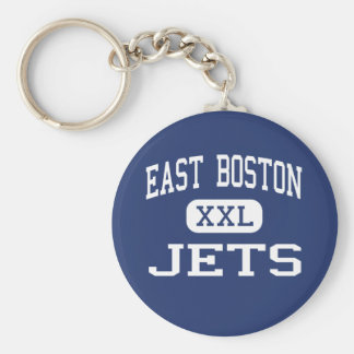 East Boston - Jets - High - East Boston Keychain