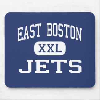 East Boston - Jets - High - East Boston Mouse Mat