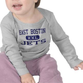 East Boston - Jets - High - East Boston Tshirts