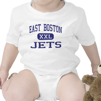 East Boston - Jets - High - East Boston Baby Bodysuits