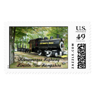 East Branch and Lincoln Train Postage