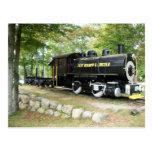 East Branch & Lincoln Train, Lincoln New Hampshire Postcard
