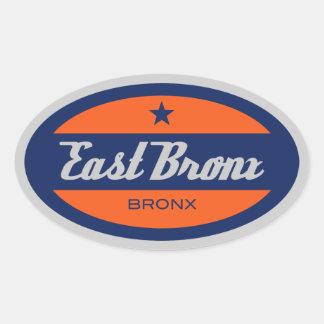 East Bronx Oval Sticker
