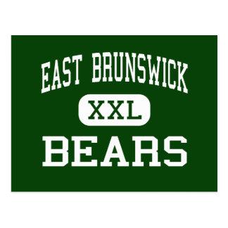 East Brunswick - Bears - High - East Brunswick Postcard