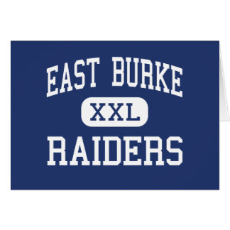 East Burke Raiders Middle Icard Card
