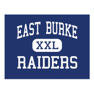 East Burke Raiders Middle Icard Postcard