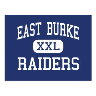 East Burke Raiders Middle Icard Postcard