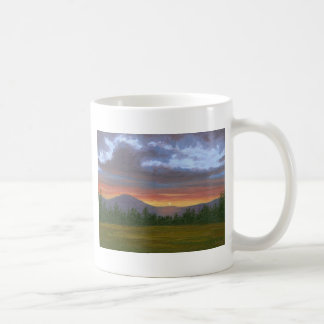 East Burke Vermont Sunset Coffee Mug