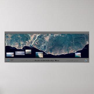 East Cape, Baja California satellite poster