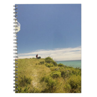 East Cape Lighthouse, Eastland, New Zealand Spiral Notebook