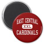 East Central - Cardinals - High - Tulsa Oklahoma Refrigerator Magnet