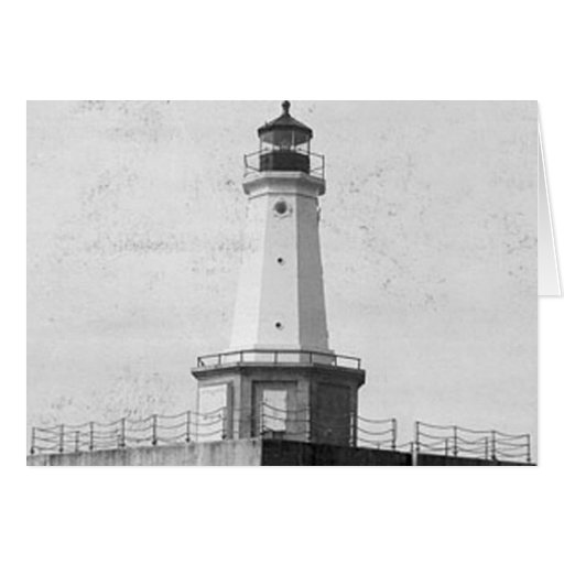 East Charity Shoal Lighthouse Greeting Card