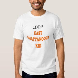 EAST CHATTANOOGA KID (orange lettering) Tee Shirt