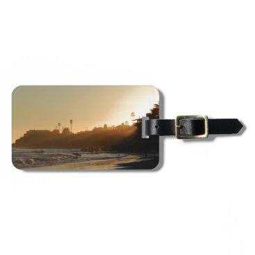 Beach Themed East Cliff Drive Beach Bag Tag